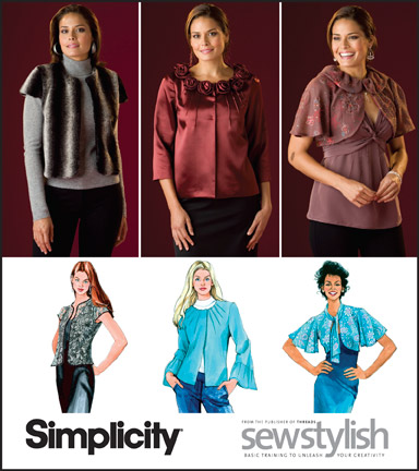 Simplicity MISSES' JACKETS 2730