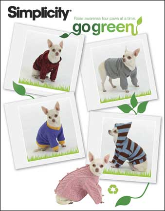 Simplicity Dog clothes in 3 sizes 2755