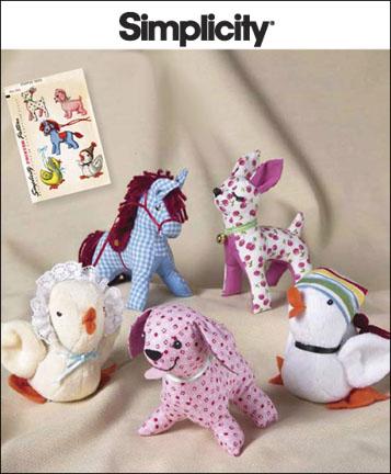 Simplicity Stuffed Animals 2763