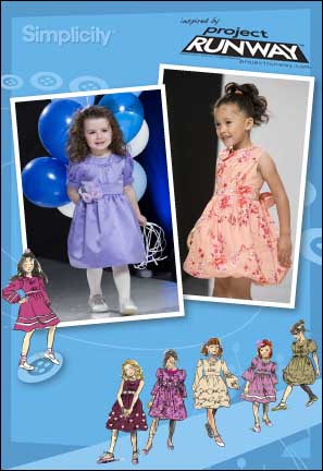 Simplicity Toddlers' and child's dress with sleeve and trim variations 2767