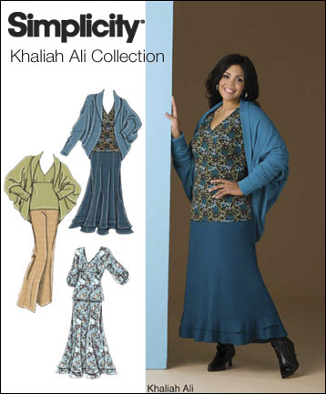 Simplicity Womes's pants, skirt and knit top and jacket 2773
