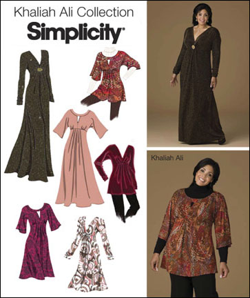 Simplicity Misses' & Plus Size Dresses 2774