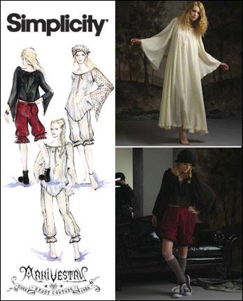 Simplicity Misses Costumes 2777