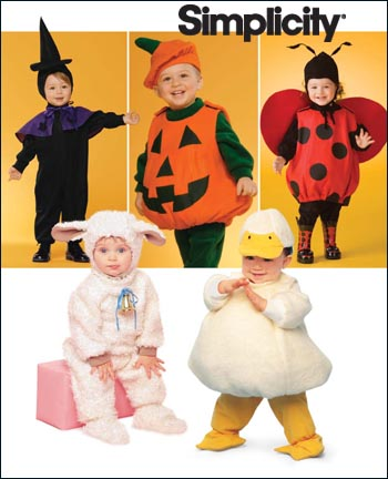 Simplicity Toddler Costumes 2788