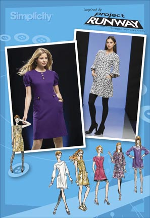 Simplicity Misses & Miss Petite Dress Project Runway Collection: Separate Patterns for B,C,D cup sizes 2798