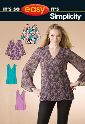 Simplicity Misses Tops 2805