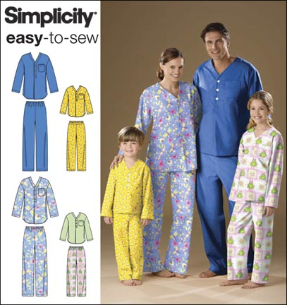 Simplicity  Unisex Child, Teen & Adult Top and Pants 2823