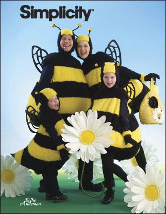 Simplicity  Unisex Child, Teen & Adult Bee Costume 2829