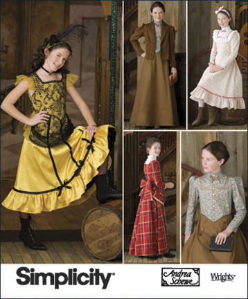 Simplicity Girls Costumes 2843