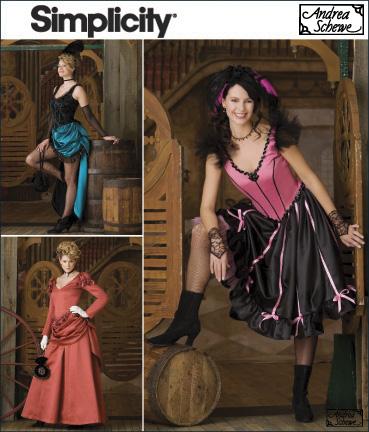 Simplicity Misses Costumes 2851