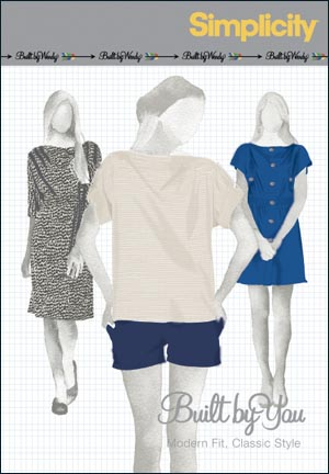 Simplicity Misses Knit Dress, Mini Dress or Top Built by Wendy Collection 2863