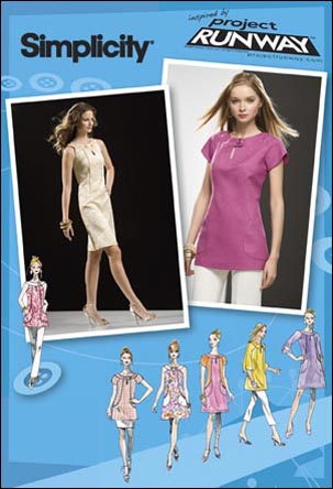 Girls In The Garden Simplicity 2927 Project Runway Tunic