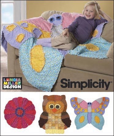 Simplicity Rag Quilts 2935