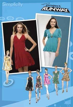 Simplicity Project Runway tops/dresses 2956