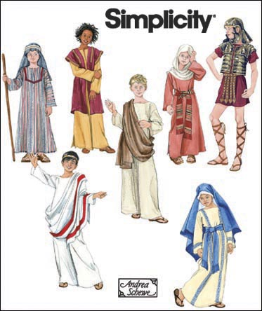 Simplicity Boys & Girls Costume 2976