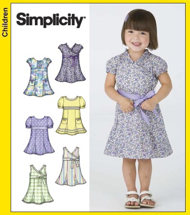 Simplicity Toddler Dresses 3512