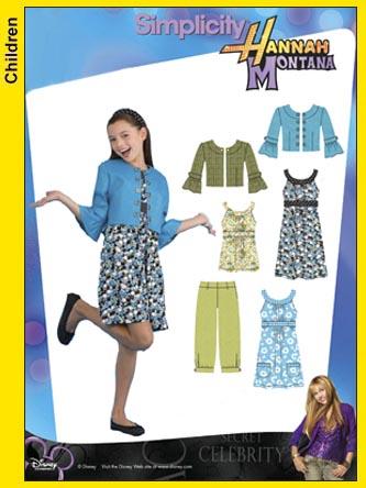 Simplicity Hannah Montana Dress/Jacket 3515