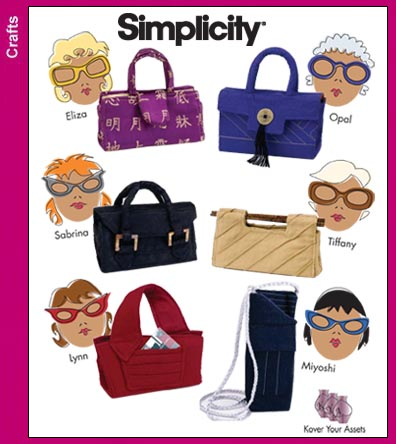 Free Sewing Pattern - Eyeglass Cases from the Accessories