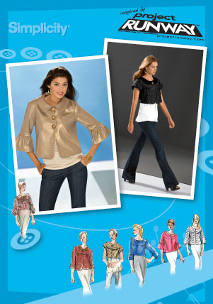 Simplicity Project Runway Inspired Jacket 3538