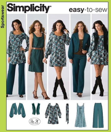 Simplicity sleeveless dress 3539