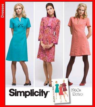 Simplicity Retro '60s Dress (Swell Dress) 3559