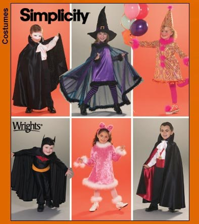 Simplicity Child Costumes 3595
