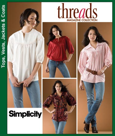 Simplicity Pullover Blouse 3625