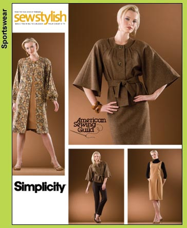 Simplicity Threads ~ Sew Stylish 3631