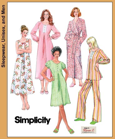 Simplicity Misses/Miss Petite Nightgowns 3636