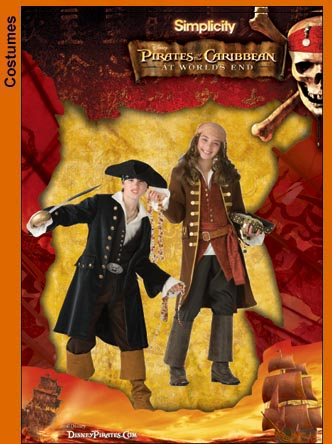 Simplicity Pirates of the Caribbean 3644