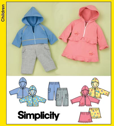 Simplicity Pattern Baby | Patterns Gallery