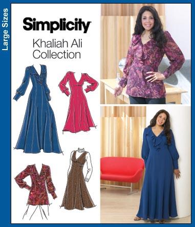 Simplicity Plus Size/Plus Size Petite Dre 3671
