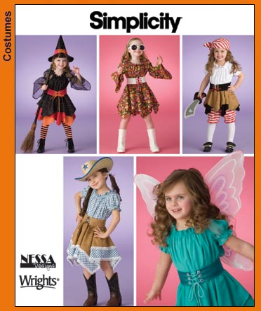 Simplicity Child Costumes 3680