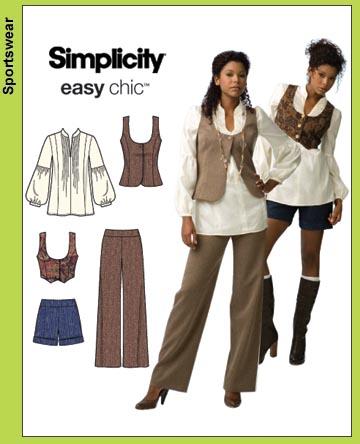 Simplicity Wardrobe 3690