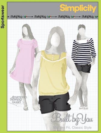 Simplicity Built By Wendy Tunics & Dress 3692
