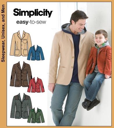 Simplicity Boys & Men Jacket 3708
