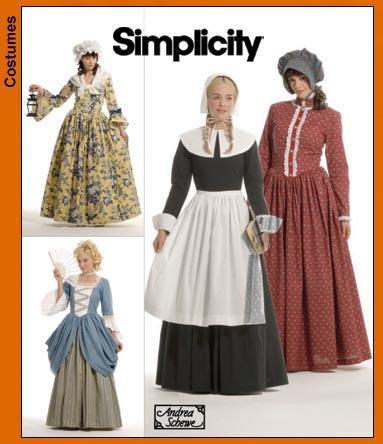 Simplicity Misses Costumes 3723