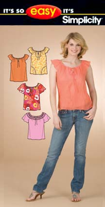 Simplicity Misses Tops 3732