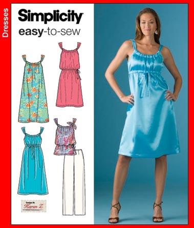 Simplicity Dresses 3742