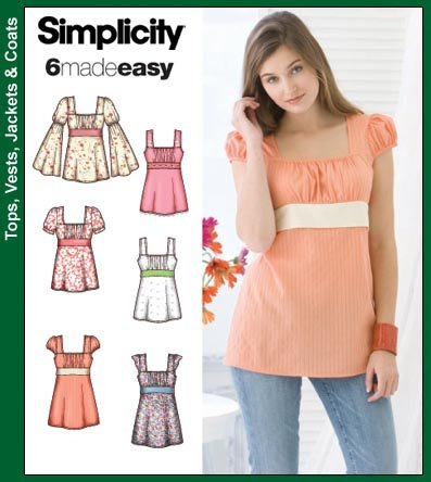 Simplicity Misses Top or Tunic 3750