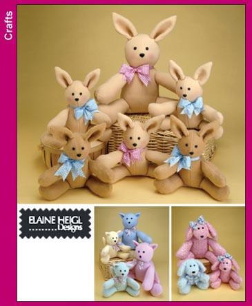 Simplicity Stuffed Animals 3779