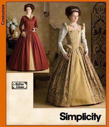 Simplicity Misses Elizabethan Costumes 3782