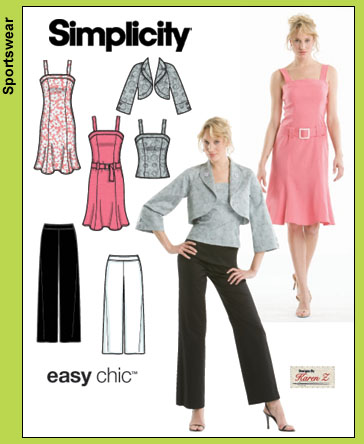 Simplicity Easy Chic Jacket by Karen Z 3797