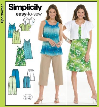 Simplicity Misses Dress 3799