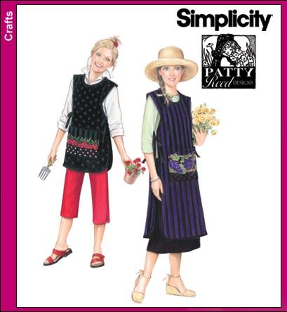 Simplicity Misses Aprons 3818