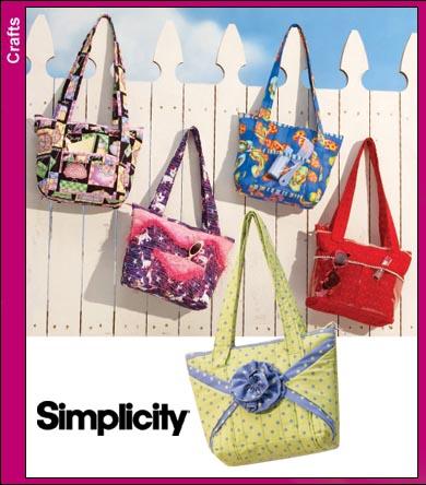 Simplicity Crafty Bags 3822