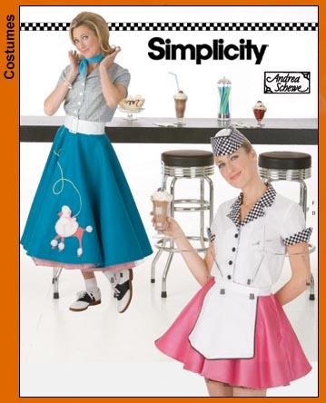 Simplicity Misses Costume 3847