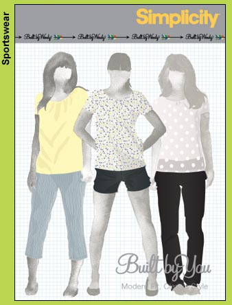 Simplicity Builty By Wendy Slim-Fit Pants 3850