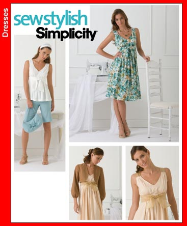 Simplicity Sew Stylish Misses Top 3867