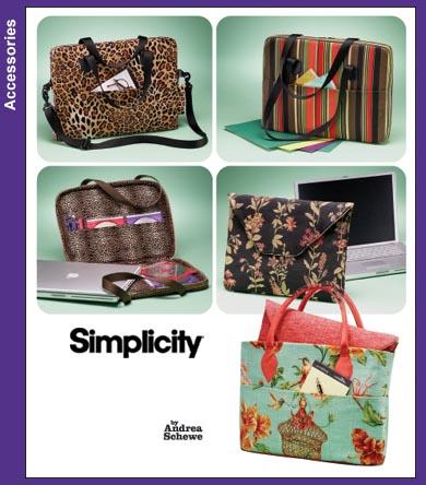 Simplicity Laptop Computer Bags 3889